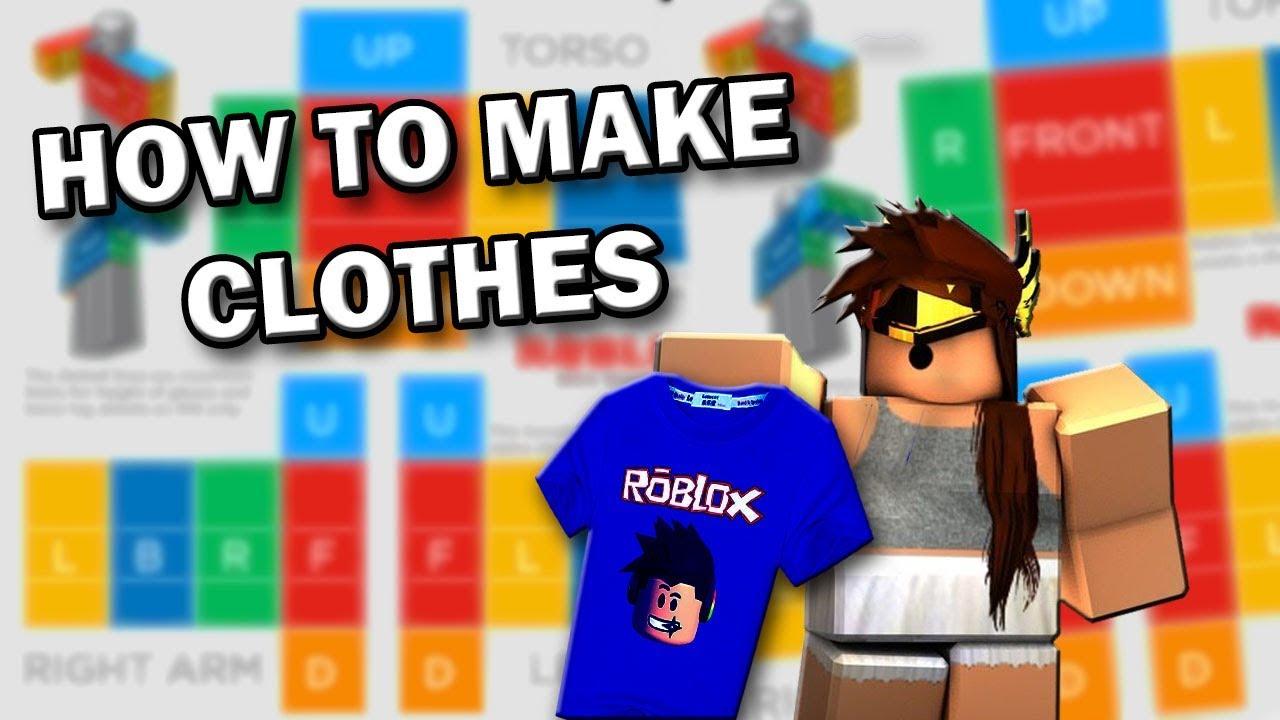 How to make Roblox shirts